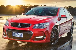 Holden unveils Commodore VF Series II