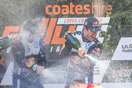 Sébastien Ogier wins Rally Australia and WRC title