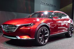 The Mazda Koeru concept may become the first Mazda CX-4