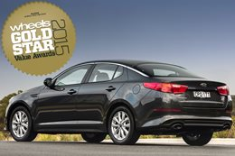Medium Cars under $45K: Gold Star Value Awards 2015