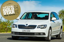 Large Cars under $45K: Gold Star Value Awards 2015