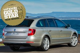 Large Cars under $60K: Gold Star Value Awards 2015