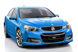 Blue Holden Commodore SS-V