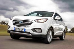 Hyundai ix35 Hydrogen Fuel Cell car