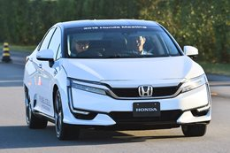 Honda Clarity Fuel Cell Vehicle