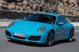 Blue Porsche 911 Carerra S