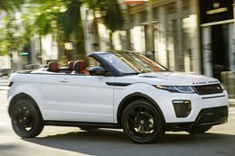2016 Range Rover Evoque Convertible revealed at LA Motor Show