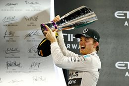 Mercedes Rosberg wins F1 season closer in Abu Dhabi
