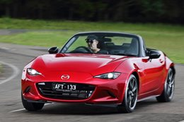 Mazda MX-5 driving front side