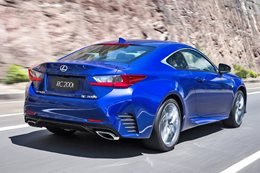 Lexus RC200t review