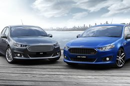 Ford Falcon G6E with Ford Falcon XR6 Turbo