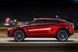 Diesel, hybrid both in race for Lamborghini Urus