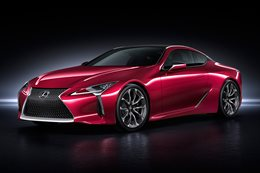 Detroit Motor Show: Lexus LC 500 revealed