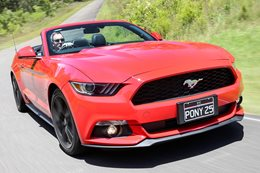 2016 Ford Mustang Convertible and Fastback review