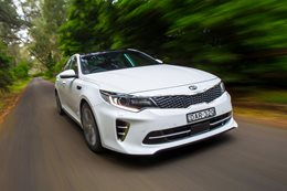 2016 Kia Optima GT review