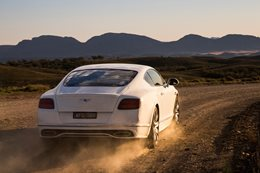 Bentley Continental GT Speed: 330km/h on a public road