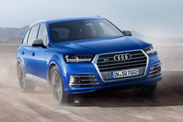 Audi SQ7 debuts electric turbo