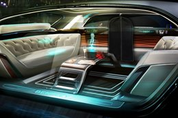 Bentley's take on the driverless limousine