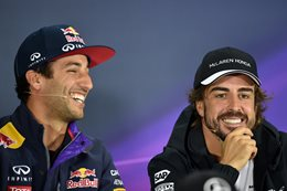 Daniel Ricciardo and Fernando Alonso | Credit: Getty Images