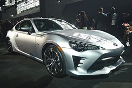 New Toyota 86 revealed