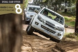 Dual Cab 4x4 ute comparison review Isuzu D-Max