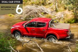 Dual-cab 4x4 ute comparison review Mitsubishi Triton
