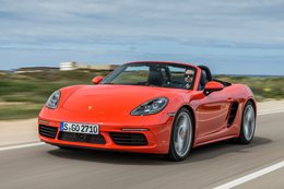 2016 Porsche 718 Boxster S review