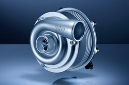 Porsche Valeo electric turbocharger