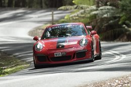 2016 Targa Tasmania won by Matt Close in Porsche 911