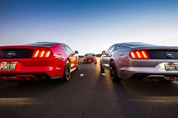 Mustang helps Ford outsell Holden in April