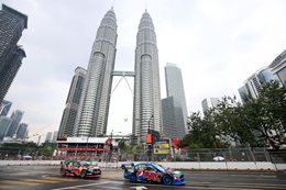 V8 Supercars Street fight continues in Malaysia