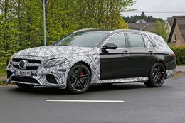 Mercedes-AMG E63 Estate spy pics