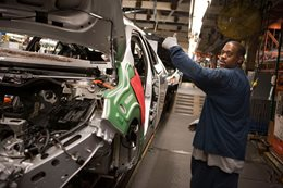 GM's Detroit-Hamtramck assembly line