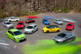 Hot hatches of 2011 comparison review