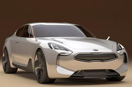 Kia confirms twin-turbo V6 sports sedan