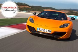 Archive: 2011 McLaren MP4-12C review