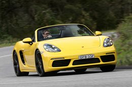 2017 Porsche 718 Boxster review