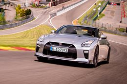 Nissan GT-R at Spa Francorchamps