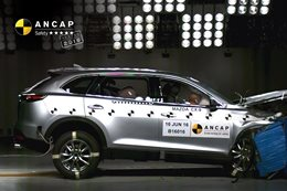 Mazda CX-9 ANCAP crash test