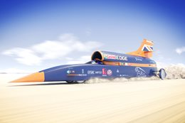 Bloodhound SSC sets supersonic record attempt