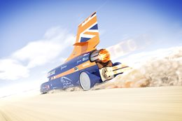 Bloodhound SSC car