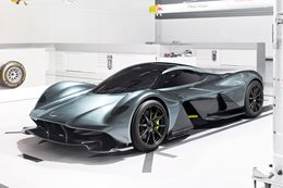 Aston Martin Red Bull AM-RB 001 hypercar unveiled