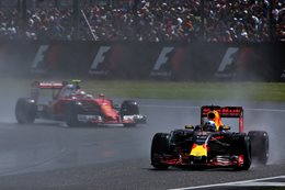Red Bull leading Ferrari