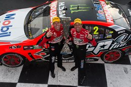 Jamie Whincup and Shane Van Gisbergen: Red Bull HRT works drivers