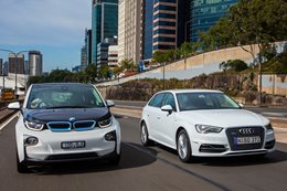 BMW i3 vs Audi A3 e-tron