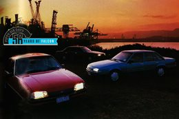 Ford Falcon, Holden Commodore and Mitsubishi Magna