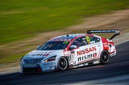 Nissan Altima racing at track