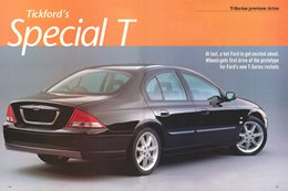 1999 Ford AU Falcon: Tickford's Special T