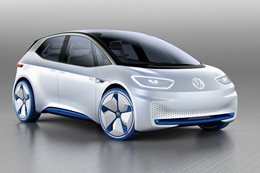 Volkswagen ID shown at Paris Motor Show