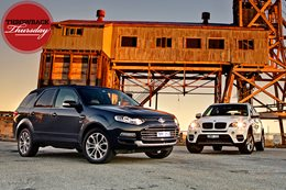 BMW X3 vs Ford Territory